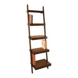 BZBZ96112 - Leaning Shelf is 69 Inches in Height x 21 Inches Wide x 17 Inches Deep - Leaning shelf is 69 inches in height x 21 inches wide x 17 inches deep. Each Tier is 15, 13, 10, 8 and 6 inch deep from bottom to top. Shipping Information-Wt.22 Lbs. Each.1 Per Case