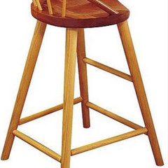 traditional bar stools and counter stools by thosmoser.com