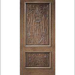 Carved and Mansion Entry Doors Model # 3 - Our Carved and Mansion doors are hand carved by master craftsman.  They will certainly add to the wow factor of any entrance exterior or interior.  The doors are Mahogany and can be stained and finished in a variety of colors to complement your homes beauty.  You may also like our International collection which is inspired by world design.
