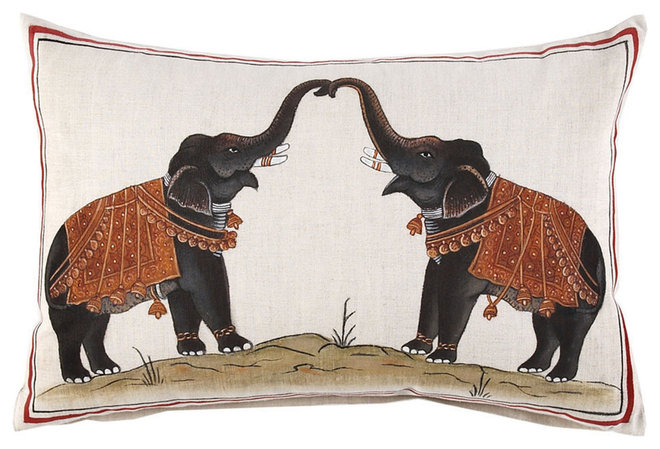 Asian Decorative Pillows by John Robshaw Textiles