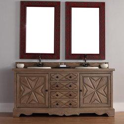 """72"""" Normandy Double Sink Vanity -"""