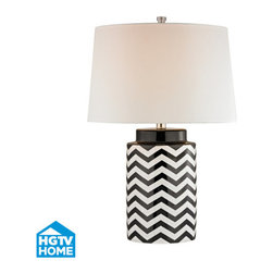 Dimond Lighting - Dimond Lighting HGTV339 Struthers 1 Light Table Lamp - Features: