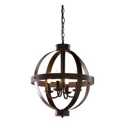 allen + roth Bronze Pendant Light