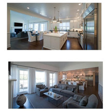 Contemporary Family Room by EB Designs
