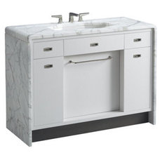 contemporary bathroom vanities and sink consoles by kallista.com