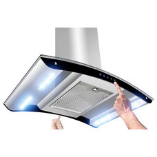 Modern Kitchen Hoods And Vents by AKDY Home Improvement