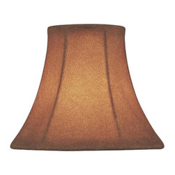 Lite Source - Candelabra Shade/Fabric - 3in.Tx5in.Bx4in.Sl - Candelabra Shade/Fabric - 3 in. Tx5 in. Bx4 in. Sl