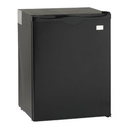 Avanti - Avanti 2.2 Cu. Ft. All-Refrigerator Black - 2.2 Cu. Ft. Refrigerator Energy Efficient & Green Product|Green Product Uses Completely CFC Free R600A Refrigerant|Energy Star Compliant (Meets 2014 Energy Star Guidelines)|Annual Energy Usage of $21|Auto Defrost|Heavy Duty Compressor|Super Quiet Operation|Rear Mounted Full Range Temperature Control|Door Bins for Additional Storage|10 ft. Wall-hugger Cord|Recessed Door Handle|Reversible Door for Left or Right Swing|Designed for Recessed Installation|Color: Black  This item cannot ship to APO/FPO addresses.  Please accept our apologies.