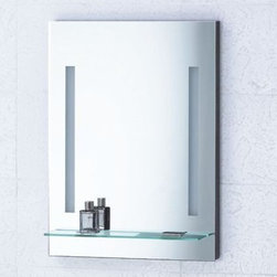Mirror with Integrated Lighting - Livorno -