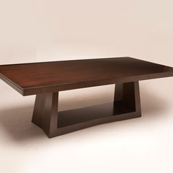 "20-89 Cubisto Dining Table - Dimensions: 78""W x 44""D x 30""H"