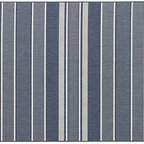 Sarasota Blue Rug - This beautiful striped rug is beckoning me to the beach. Pair it with a great patio set or couch, and you are on your way to a coastal chic vibe. The stripes make it easy to work with because it will look great paired with any fun pillow.