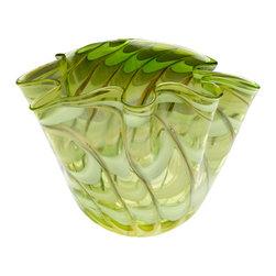 Cyan Design - Francisco Bowl - Large - Large francisco bowl - green and yellow