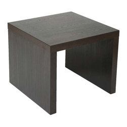 Eurostyle - Eurostyle Abby Square Side Table in Gray - Square Side Table in Gray belongs to Abby Collection by Eurostyle Form and function in perfect harmony. All of the Abby Tables are made of a unique, lightweight wooden honeycomb material, giving you the durability you require, along with an easy approach to re-arranging a room to suit the function. In gray or white lacquer. End Table (1)