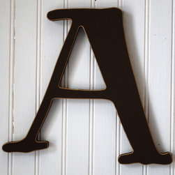 RR - On Sale Capital Wall Letters in Chocolate Brown - Letter C - On Sale Capital Wall Letters in Chocolate Brown Letter C