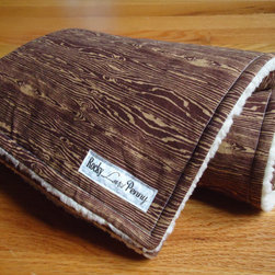 Baby Blanket, Joel Dewberry Woodgrain Bark by Rocky Loves Penny - This is such an adorable little baby blanket! It would make a great shower gift for any stylish mama.