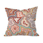DENY Designs - Khristian A Howell Sedona Throw Pillow, 16x16x4 - Wanna transform a serious room into a fun, inviting space? Looking to complete a room full of solids with a unique print? Need to add a pop of color to your dull, lackluster space? Accomplish all of the above with one simple, yet powerful home accessory we like to call the DENY throw pillow collection!