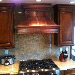 Copper Range Hoods - © 2013 Copper Kitchen Specialists