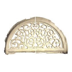 "Factory Direct Wall Decor - Chateau Arch - The Chateau Arch (2 Pcs.) consists of two stone textured wall decor pieces constructed to make an arch shape. This item is very popular on top of doorways, and can be used as indoor home decor or outdoor wall decor. The measurements of the total set (as photographed) are 55""W x 31""H x 4"" in Depth. The approximate weight of the total set  is 25 lbs."