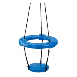 Timber-Bilt Vortex Ring Swing - This is a great swing choice for a family with several children. Seat a group of people and swing away.
