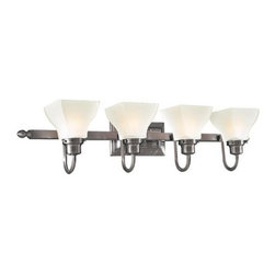 Minka Lavery - Minka Lavery ML 5584 4 Light Bathroom Vanity Light Mission Ridge Collec - Four Light Bathroom Vanity Light from the Mission Ridge CollectionFeatures: