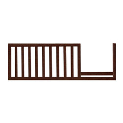 PALI - Emilia Toddler Rail Kit - Our Emilia Toddler Rail is needed to convert your Emilia Forever Crib to a toddler bed or child's day bed. We have compiled a kit that includes a toddler rail and two posts for easy conversion. Pali is committed to your child's safety and always use non-toxic finishes that are regularly tested to ensure they exceed all required standards for lead and heavy metals. We are also committed to protecting our environment, which is just one of the reasons we have selected to use Rubberwood harvested from sustainable forests within a 500-mile radius from our factory. Features: -Non-toxic and lead in surface coatings and soluble heavy metals compliant.-Converts the 9100-CH Emilia Forever Crib to a toddler bed or child's day bed.-Rubberwood construction.-Collection: Emilia.-Distressed: No.Dimensions: -Overall Product Weight: 14 lbs.Assembly: -No assembly required.