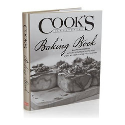 "Baking Book Cookbook - From the test cooks and editors of ""Cook's Illustrated,"" this compilation of 350 recipes helps you make the best baked goods while avoiding common baking pitfalls. This practical kitchen companion for the home baker explores every ingredient, technique and piece of equipment critical to baking success, with a chapter dedicated to every imaginable baking category. Of course, the signature illustrations and dramatic black-and-white photographs are in abundance to help you perfect each recipe."