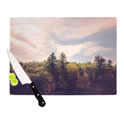"Kess InHouse - Jillian Audrey ""Walden Woods"" Green White Cutting Board (11.5"" x 15.75"") - These sturdy tempered glass cutting boards will make everything you chop look like a Dutch painting. Perfect the art of cooking with your KESS InHouse unique art cutting board. Go for patterns or painted, either way this non-skid, dishwasher safe cutting board is perfect for preparing any artistic dinner or serving. Cut, chop, serve or frame, all of these unique cutting boards are gorgeous."
