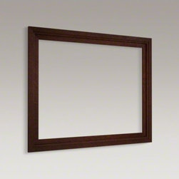 "KOHLER - KOHLER Damask(TM) medicine cabinet surround, 40"" wide - Add the beauty of a wood frame ..."