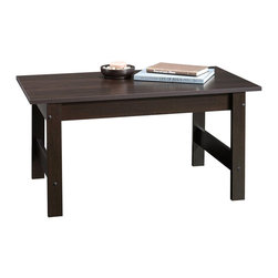 Sauder - Sauder Beginnings Coffee Table in Cinnamon Cherry Finish - Sauder - Coffee Tables - 414291