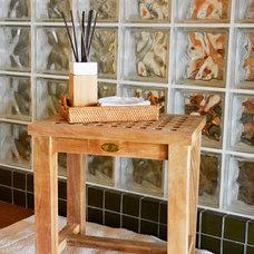 Modern Bathroom Stools by BHome Teak Furniture