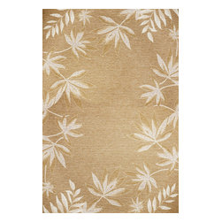 KAS - Horizon 5706 Sage Green Flora Outdoor Rug by Kas - 3 ft 4 in x 4 ft 11 in - Horizon 5706 Sage Fern Border Flora Area Rug by Kas. The Horizons collection is a refreshing indoor/outdoor area rug line that reflects the look and feel of classic flat weave rugs. With modern, transitional, and traditional design options, there is bound to be something for everyone.