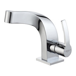 Kraus - Kraus KEF-15101CH Typhon Single Lever Basin Faucet - Discover the brilliance of exquisite bathroom dcor and enhance your way of living