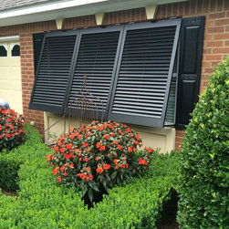 Exterior Bahama Shutters in Bainbridge Georgia - Mitch Suber