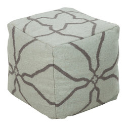 It�۪s Electric! Pouf - Evocative of electric currents, this whimsical modern pouf is a fun addition to a classic room. Made in India from 100% wool, we love this fun pouf as an accent piece as well as additional, non-traditional seating that���don't worry���won't shock you when you sit down.
