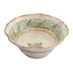 Arte Italica - Chianti Serving Bowl - Talk about buon gusto! Serve up your favorite dishes with this handmade imported bowl. Its robust yet subtle colors, rustic design — and, of course, ample size — bring the essence of true Italian style to your table.