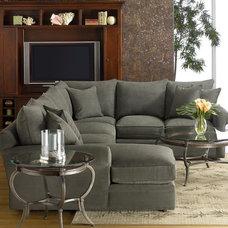 Doss Fabric Microfiber Sectional Sofa, 3 Piece (Right Arm Facing Loveseat, Left