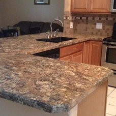 Contemporary Kitchen Countertops by CabinetmakerWarehouse