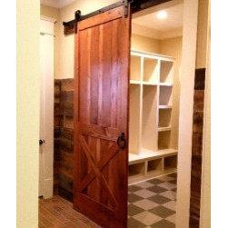 Barn Doors - Matching/complementary door for  Dual Radius sliding barn door project.