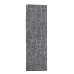 Candice Olson - Candice Olson Sculpture Loomed Wool Rug X-862-6057UCS - Striking and sophisticated, the rugs of the Sculpture Collection utilize the art of surface carving to reveal elegant pattern and textural energy. Created by respected interior designer Candice Olson, each rug is an artistic representation of ultimate luxury and simplicity. Hand-woven from 100% Wool, they make the ideal addition to any transitional or contemporary interior.