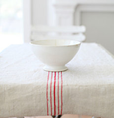 traditional table linens by Dreamy Whites