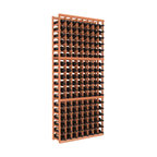"Wine Racks America - 8 Column Standard Wine Cellar Kit in Redwood, (Unstained) - Ben Franklin said it best: ""Wine is constant proof that God loves us and loves to see us happy."" So grow your collection with wooden wine storage that's easy to assemble, gentle on bottles and a lovely sight to behold."