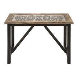 IMAX CORPORATION - Meredith Scroll Top Console Table - Meredith Scroll Top Console Table. Find home furnishings, decor, and accessories from Posh Urban Furnishings. Beautiful, stylish furniture and decor that will brighten your home instantly. Shop modern, traditional, vintage, and world designs.
