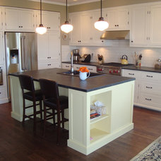 kitchen islands and kitchen carts by Old Kranky's Custom Woodworking