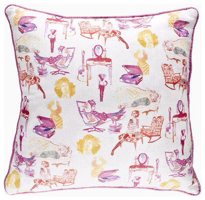 contemporary pillows by AphroChic Shop