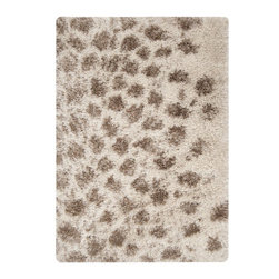 Surya - Surya Rhapsody Rug X-32-8001AHR - Plush hand-woven shag rug in 100% polyester, coordinates with any decorating schemes. Super soft and fluffy texture provides comfort underfoot. An animal design and palette of fashion forward and neutral colors makes it easy to match to your decor.