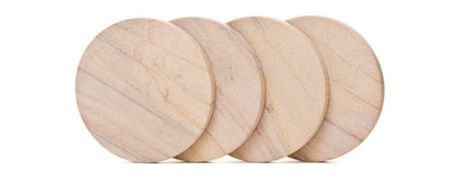 Franmara - 4 Set of 4 Inch Round Durable Natural Radiant Sandstone Coasters - This gorgeous 4 Set of 4 Inch Round Durable Natural Radiant Sandstone Coasters has the finest details and highest quality you will find anywhere! 4 Set of 4 Inch Round Durable Natural Radiant Sandstone Coasters is truly remarkable.