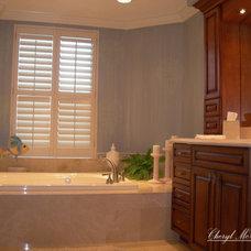 Bathtubs by Cheryl McCracken Interiors,Inc
