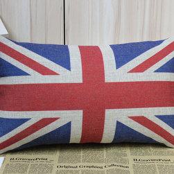 Sherlock Holmes Movie Props Union Jack Cushion Cover Linen Made Decorate 50x30cm - Sherlock Holmes Movie Props Cushion Union Jack Cover Linen Made Decorate 50x30cm
