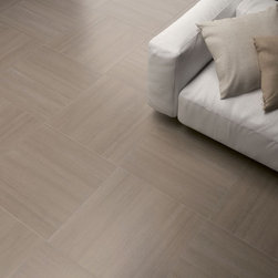 Linear Design Porcelain Tile - Streaming - Streaming is a contemporary look featuring a softly striped linear surface that fuses the aesthetic features of a refined material with the impeccable technical performance of full-body colored porcelain stoneware. Streaming is available in two rectified sizes in five cutting edge colors.