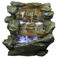 Modern Outdoor Fountains And Ponds by Hayneedle